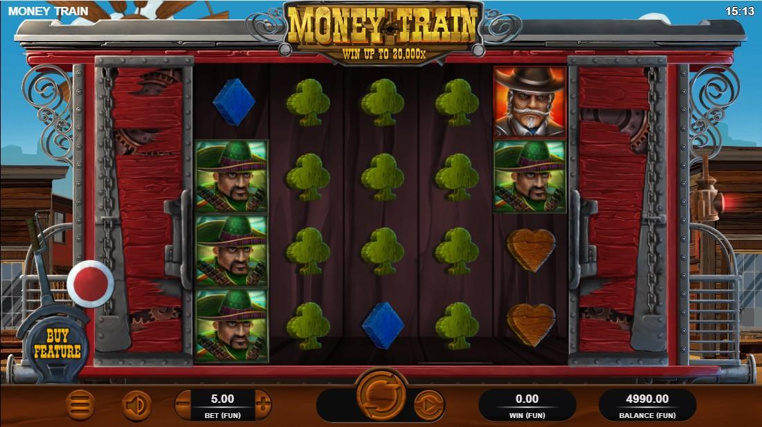 Бесплатный слот Money Train