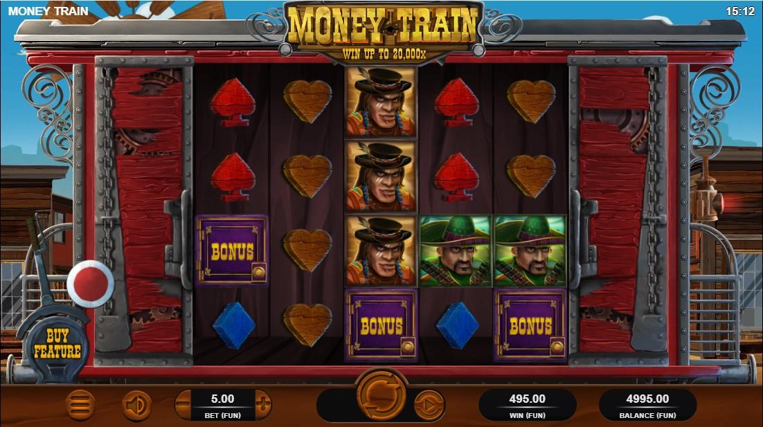 Money Train игровой автомат