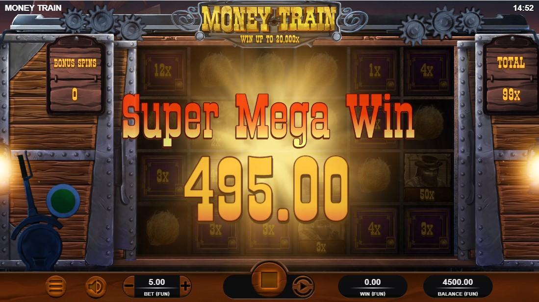 Игровой автомат Money Train