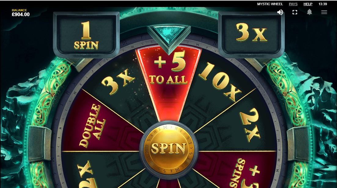 Онлайн слот Mystic Wheel