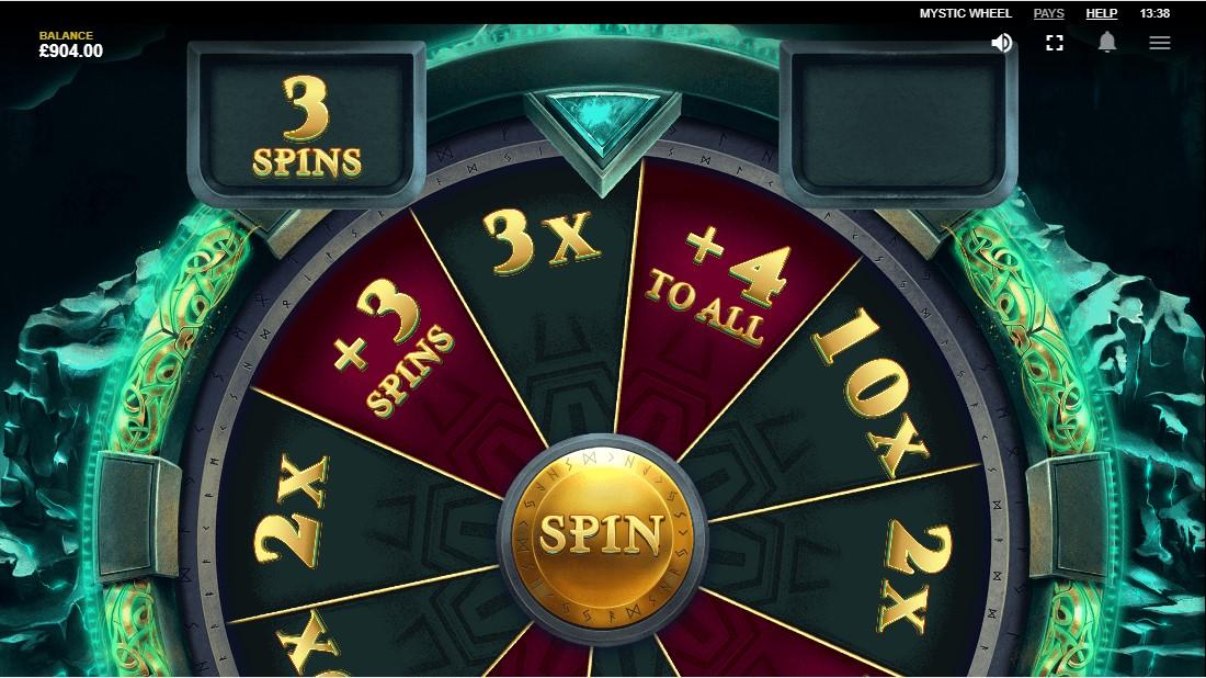 Игровой автомат Mystic Wheel