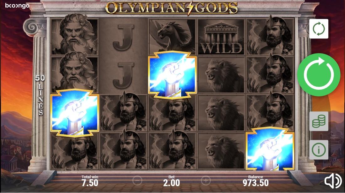 Olympian Gods бесплатный игровой автомат