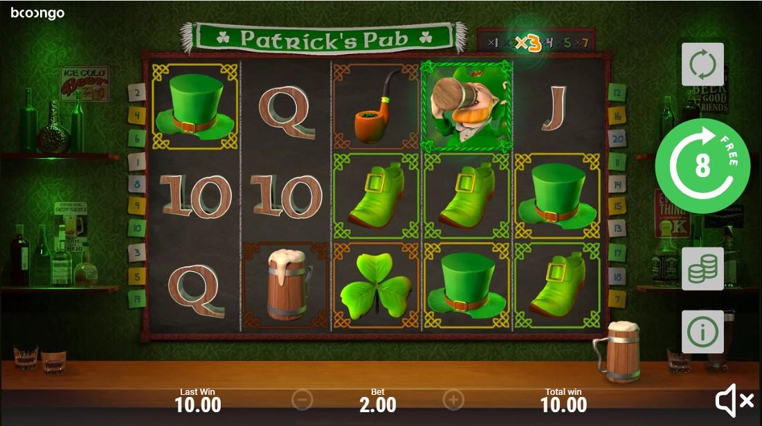 Игровой автомат Patrick's Pub