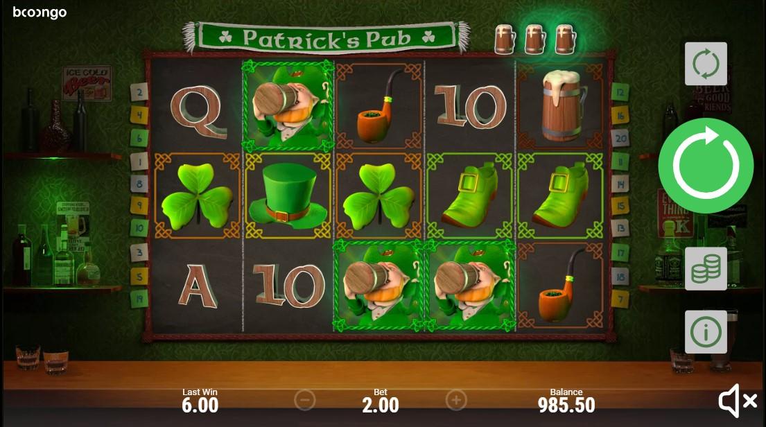 Слот Patrick's Pub играть