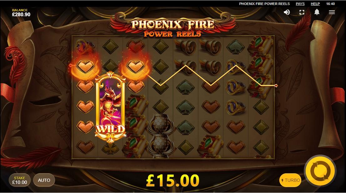 Phoenix Fire Power Reels слот играть бесплатно