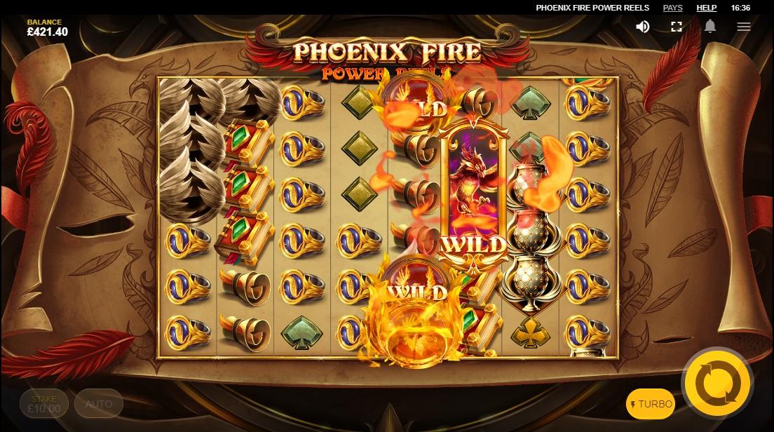 Phoenix Fire Power Reels играть онлайн