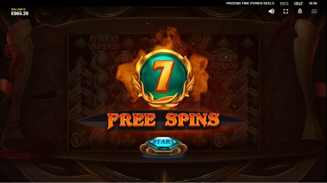 Играть бесплатно Phoenix Fire Power Reels