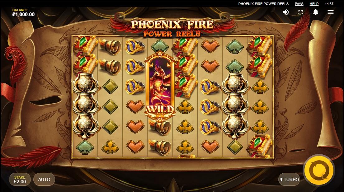 Бесплатный игровой автомат Phoenix Fire Power Reels