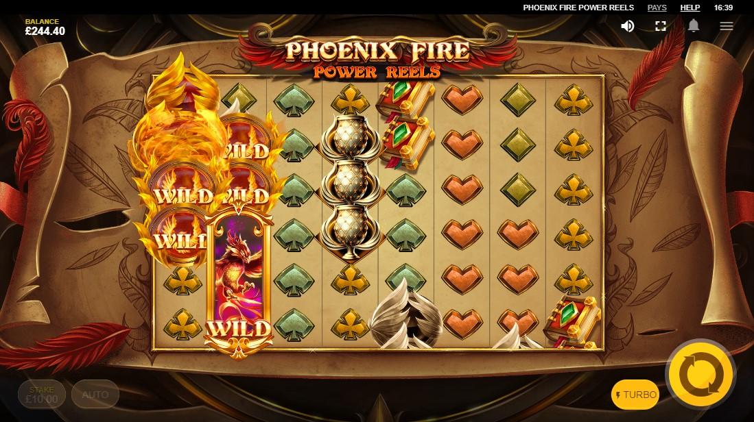 Слот Phoenix Fire Power Reels играть