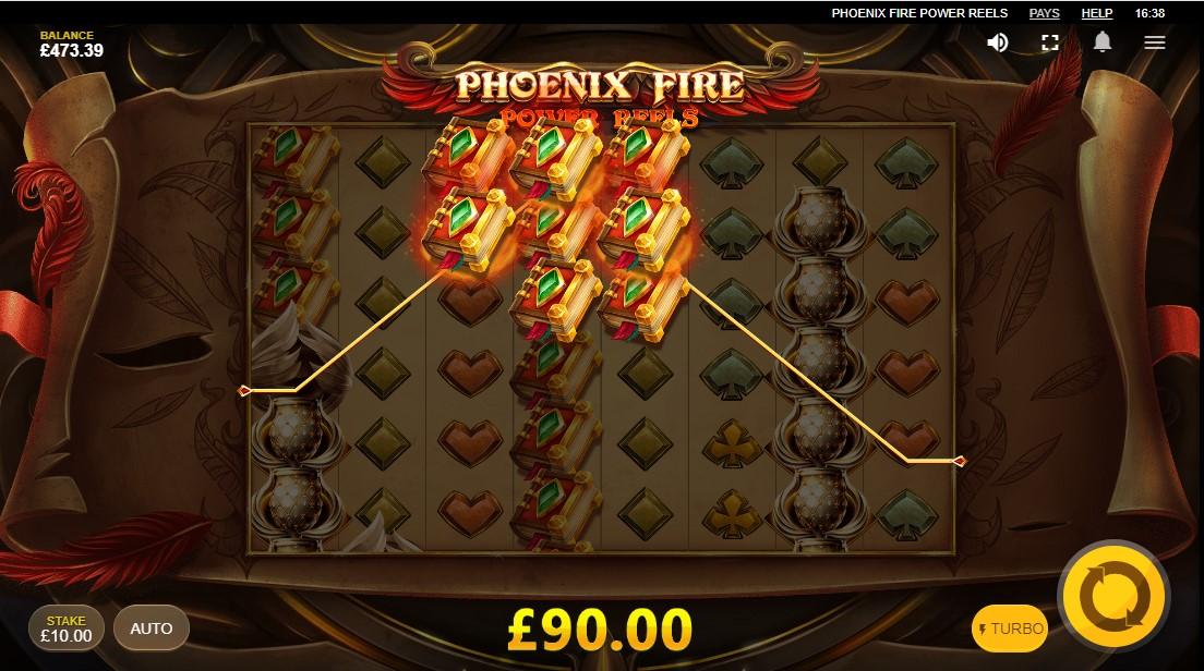 Онлайн слот Phoenix Fire Power Reels