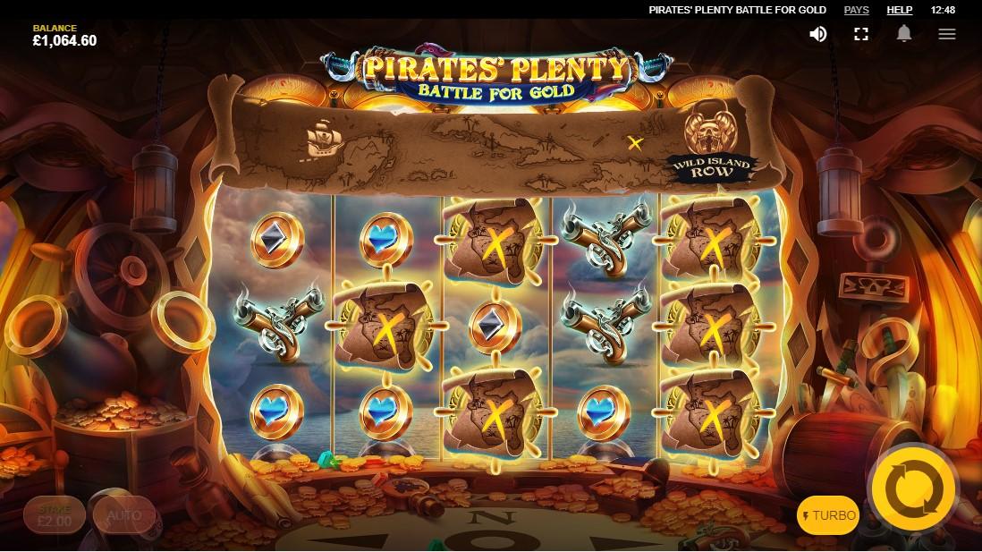 Бесплатный игровой автомат Pirates Plenty Battle For Gold