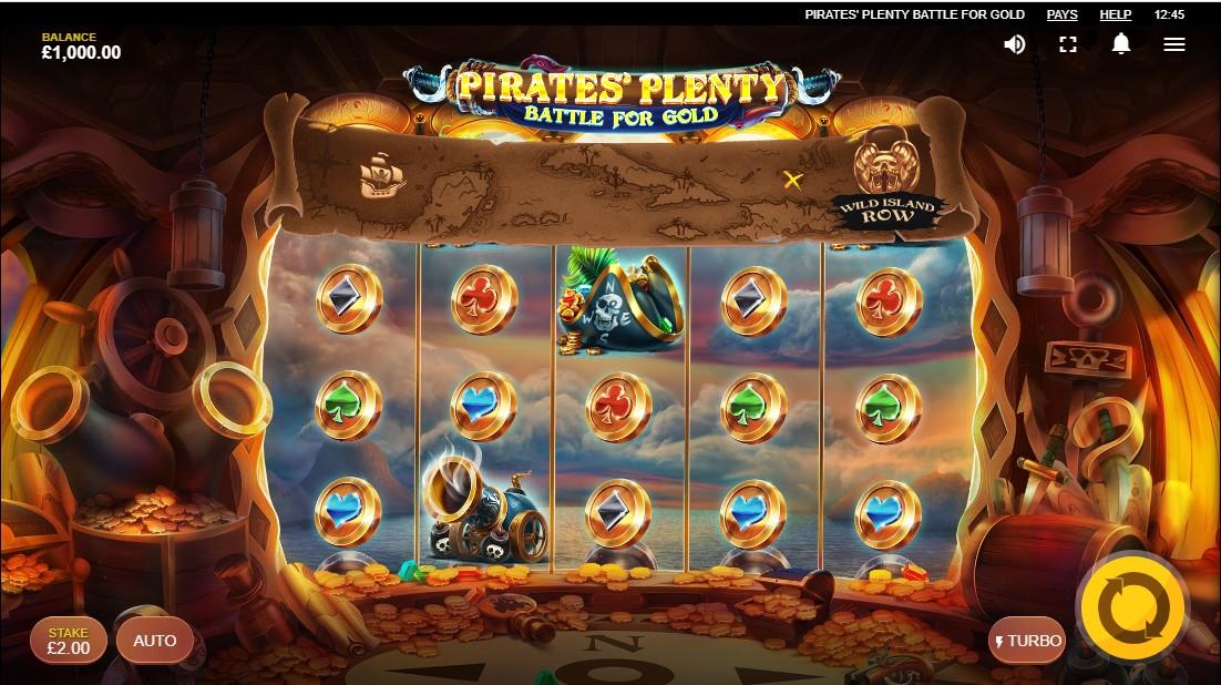 Слот Pirates Plenty Battle For Gold играть