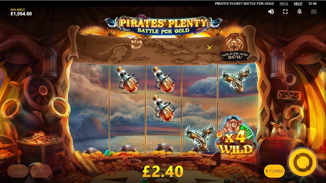 Игровой автомат Pirates Plenty Battle For Gold