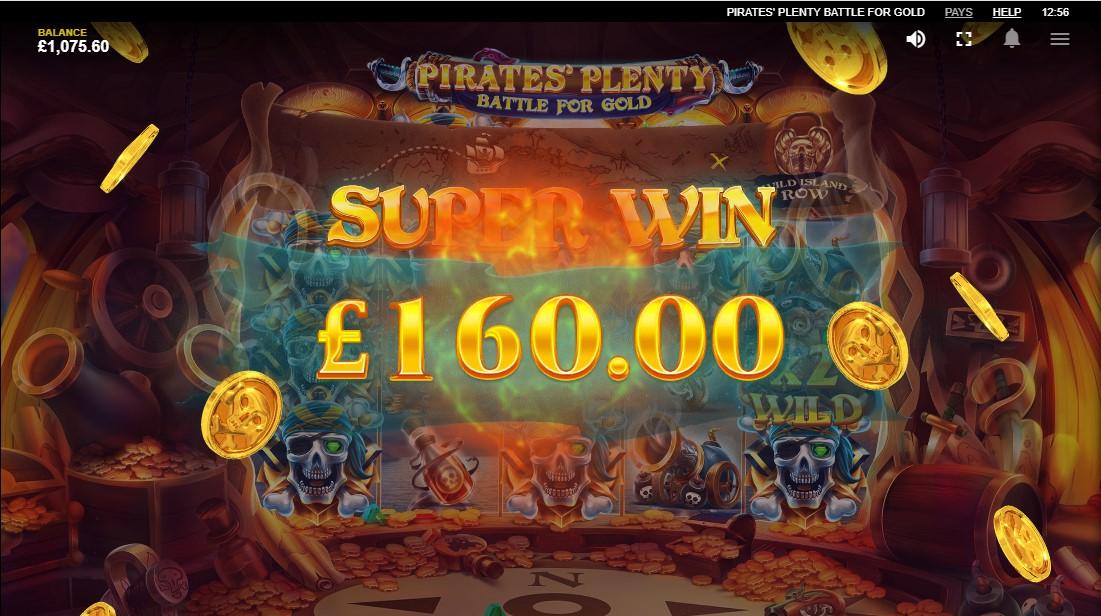 Онлайн слот Pirates Plenty Battle For Gold