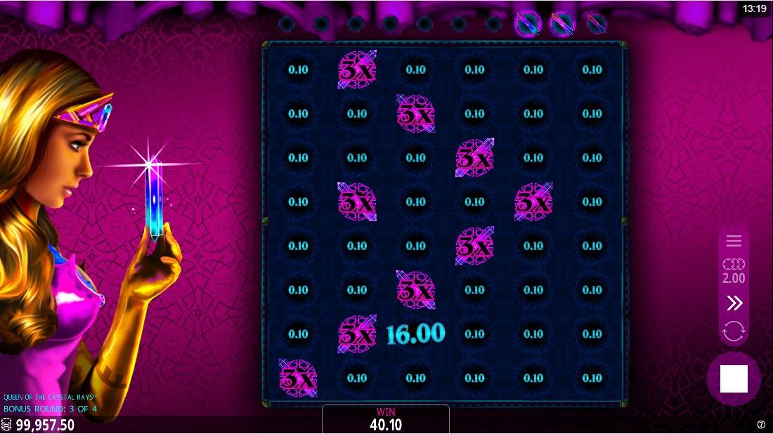 Игровой автомат Queen of the Crystal Rays