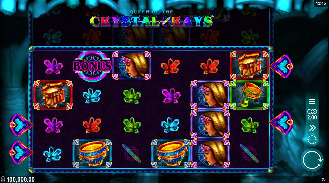 Queen of the Crystal Rays игровой автомат