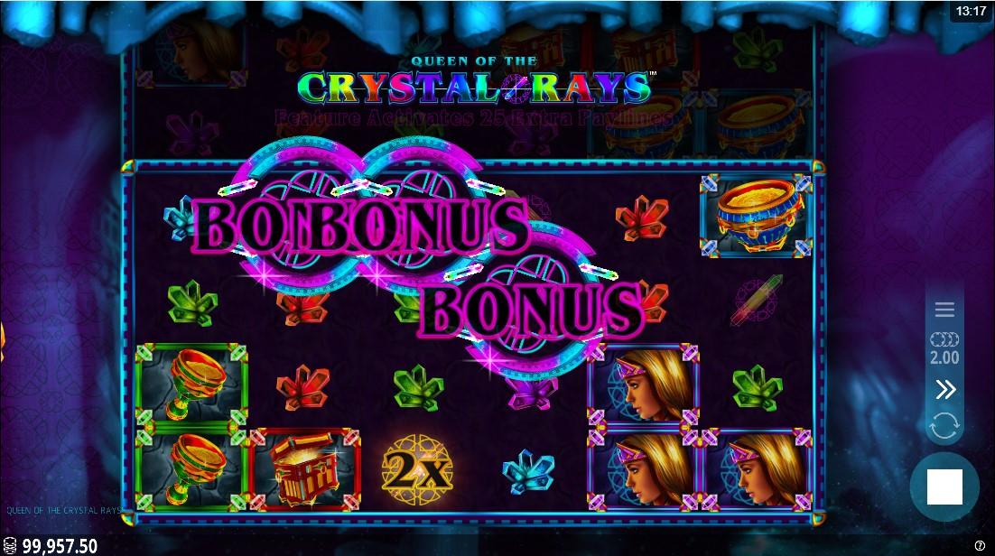 Queen of the Crystal Rays играть в слот бесплатно