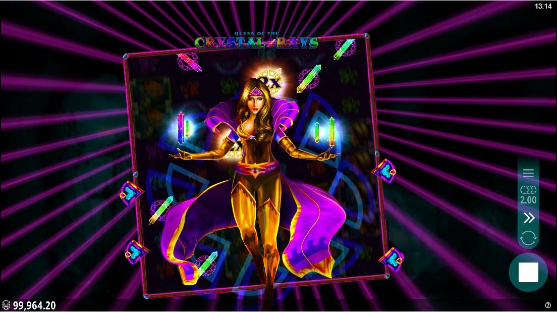 Игровой автомат Queen of the Crystal Rays играть онлайн