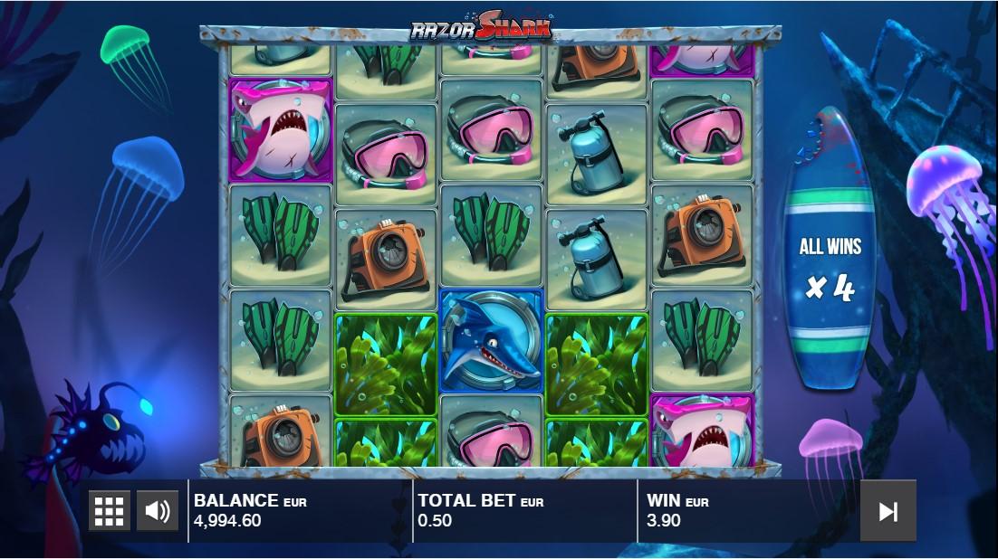 игровой автомат акулы