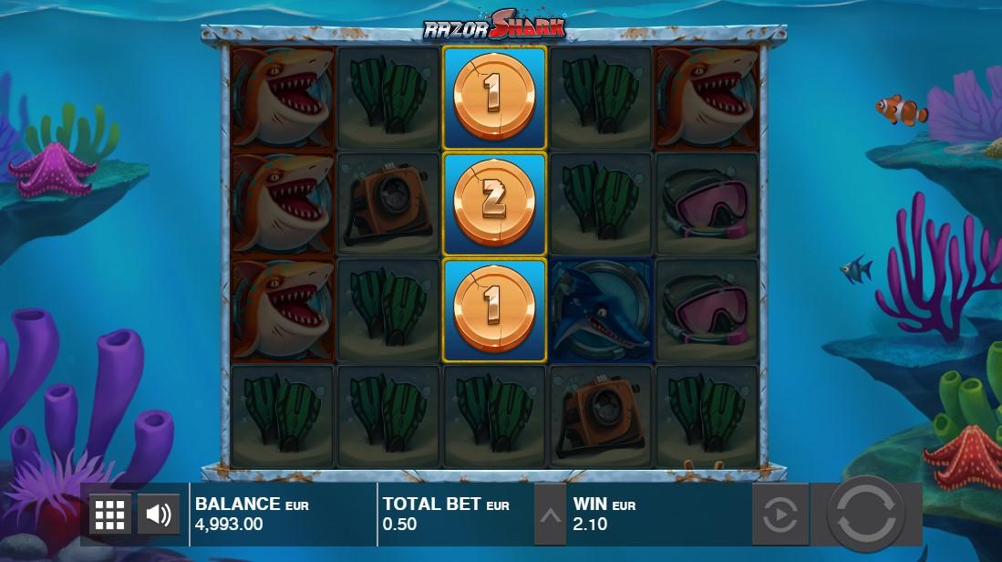 Слот Razor Shark играть