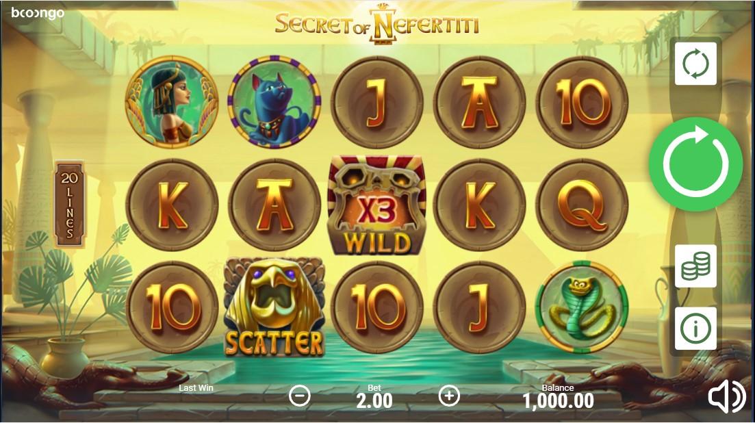 Secret of Nefertiti игровой автомат