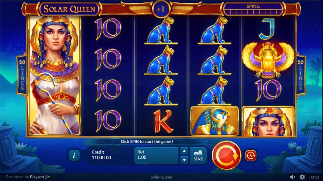 Играть онлайн Solar Queen