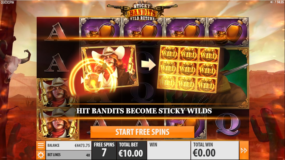 Играть бесплатно Sticky Bandits Wild Return