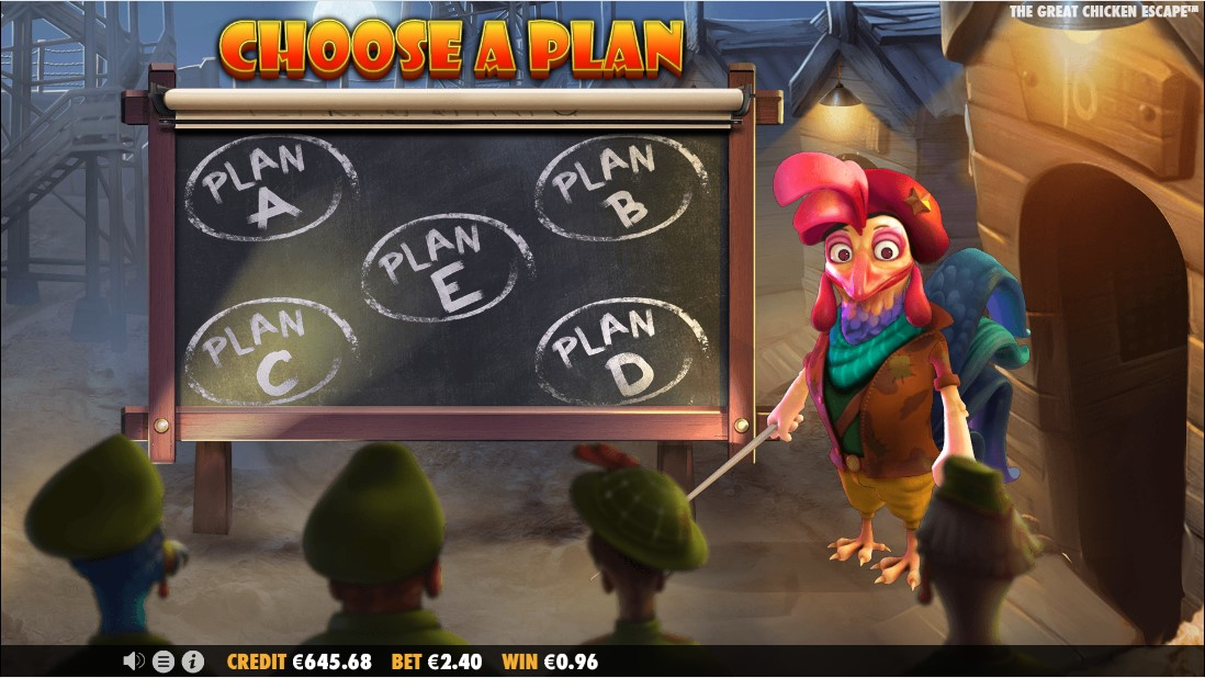 The Great Chicken Escape игровой автомат