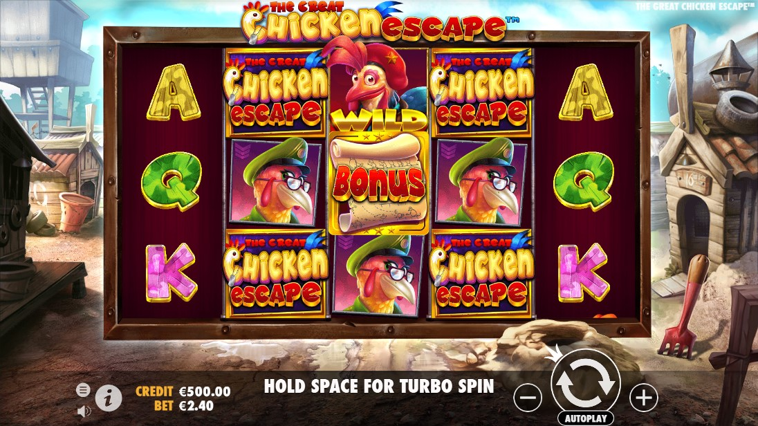 The Great Chicken Escape бесплатный слот