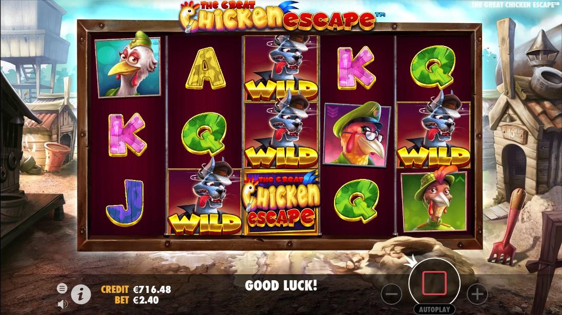 Слот The Great Chicken Escape играть