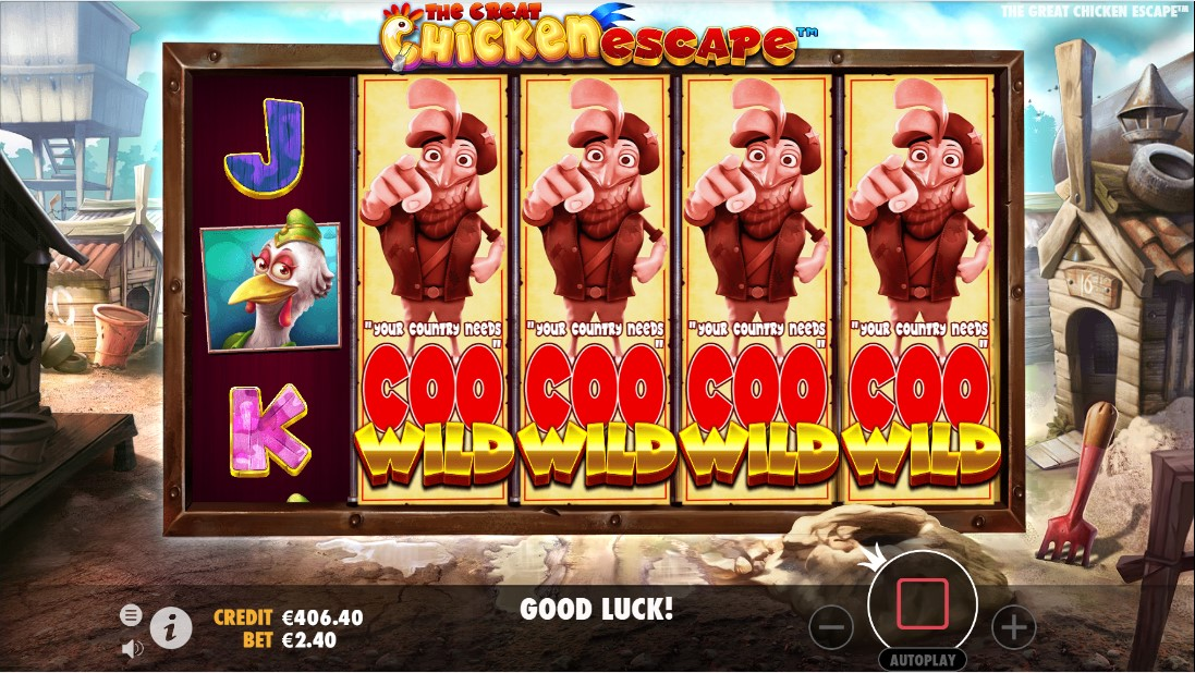 Онлайн слот The Great Chicken Escape
