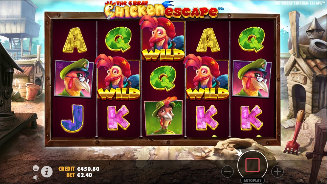 Бесплатный слот The Great Chicken Escape