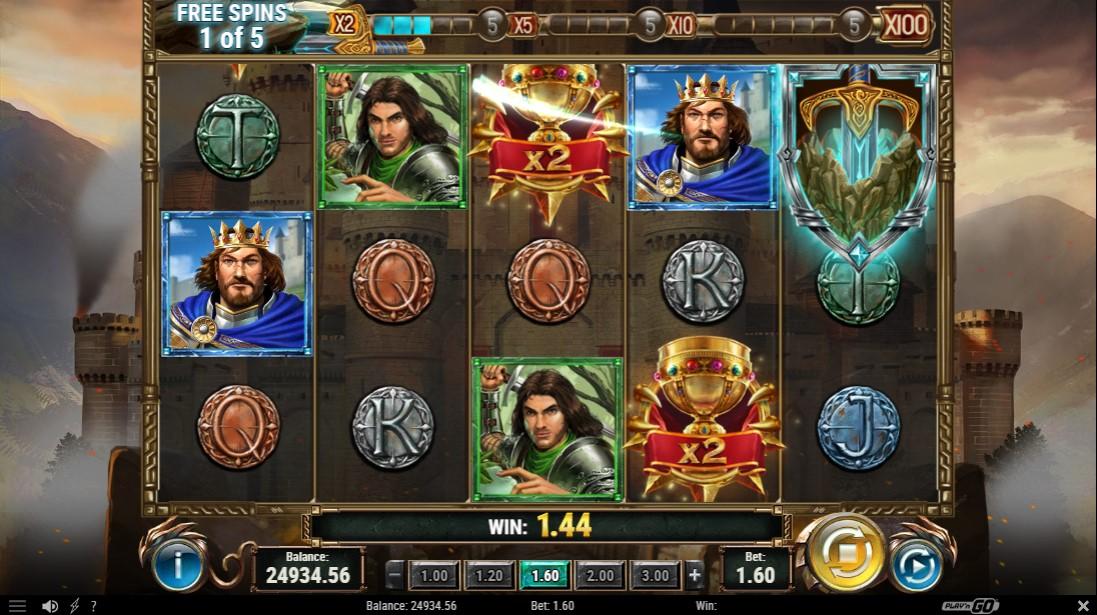 Игровой автомат The Sword and The Grail