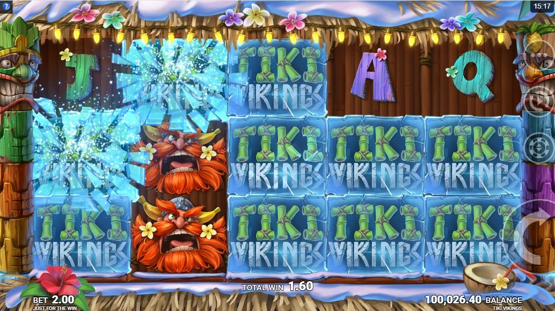 Бесплатный игровой автомат Tiki Vikings