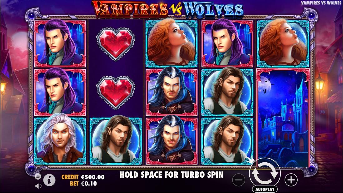 Vampires vs Wolves играть бесплатно