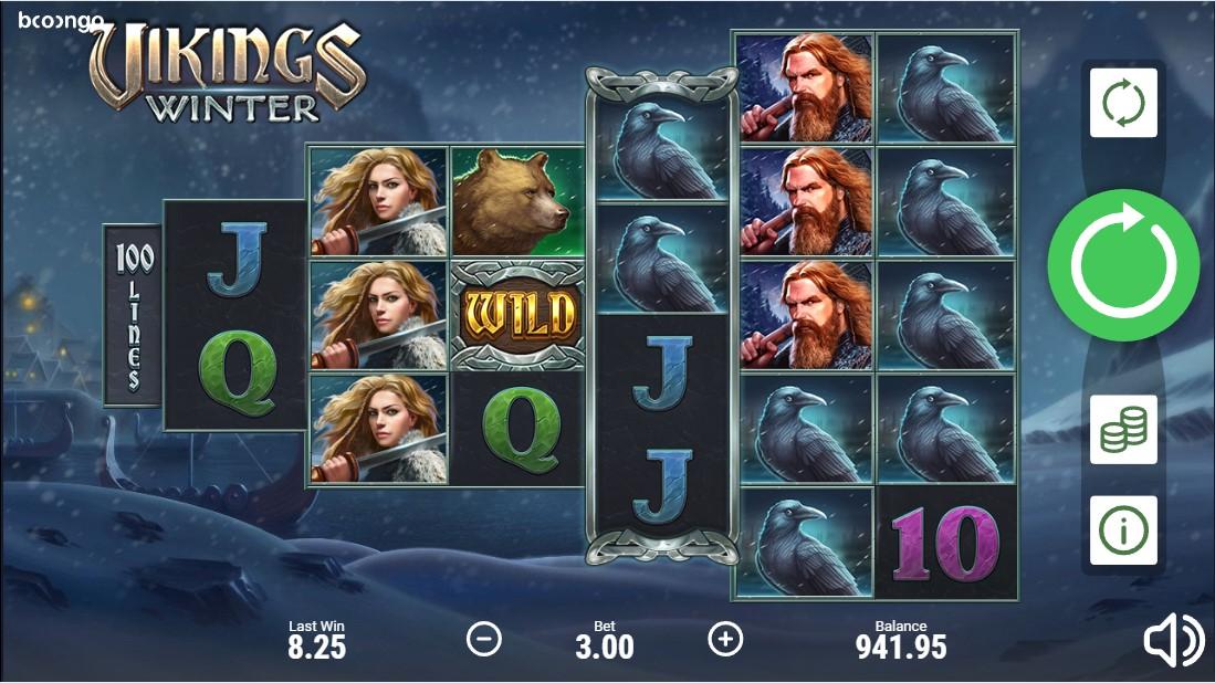 Vikings Winter играть бесплатно