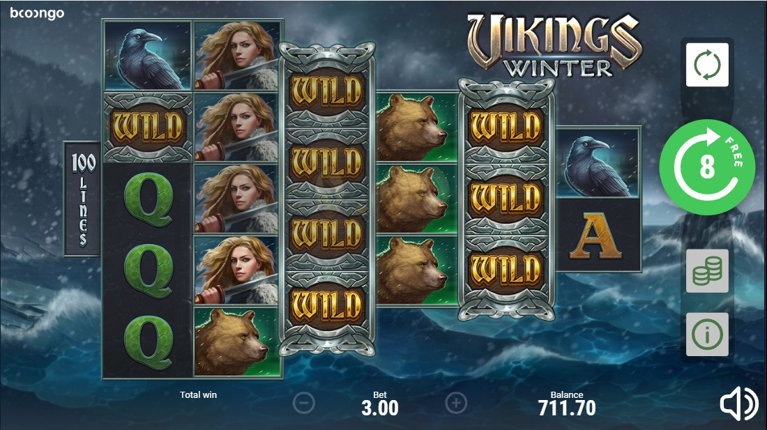 Слот Vikings Winter играть