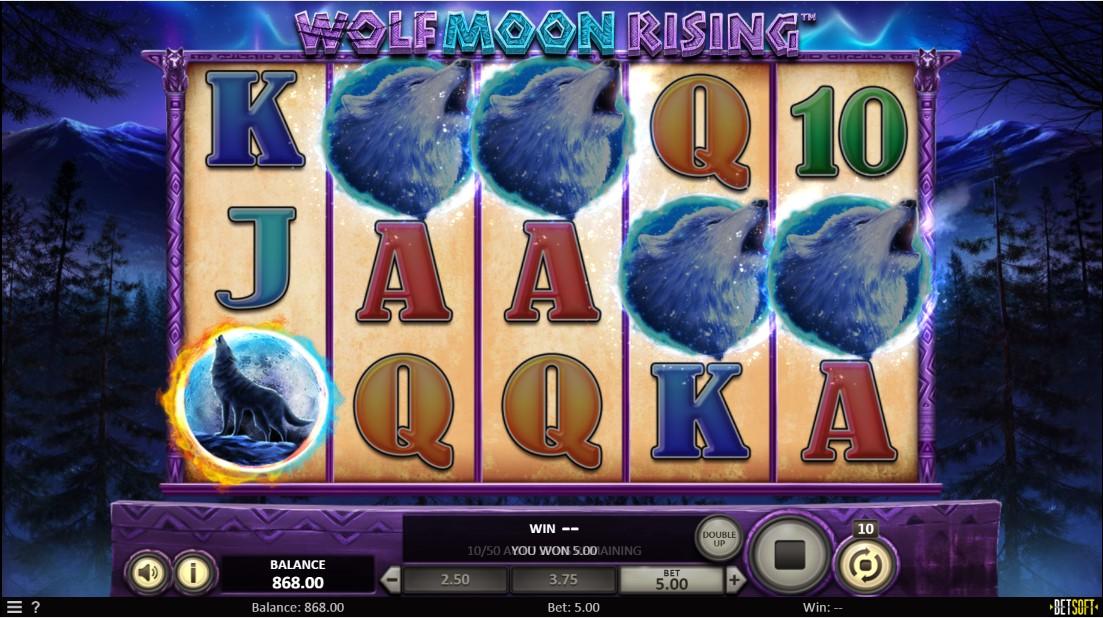 Бесплатный слот Wolf Moon Rising