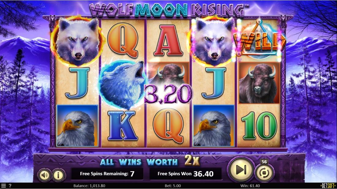 Wolf Moon Rising онлайн игровой автомат