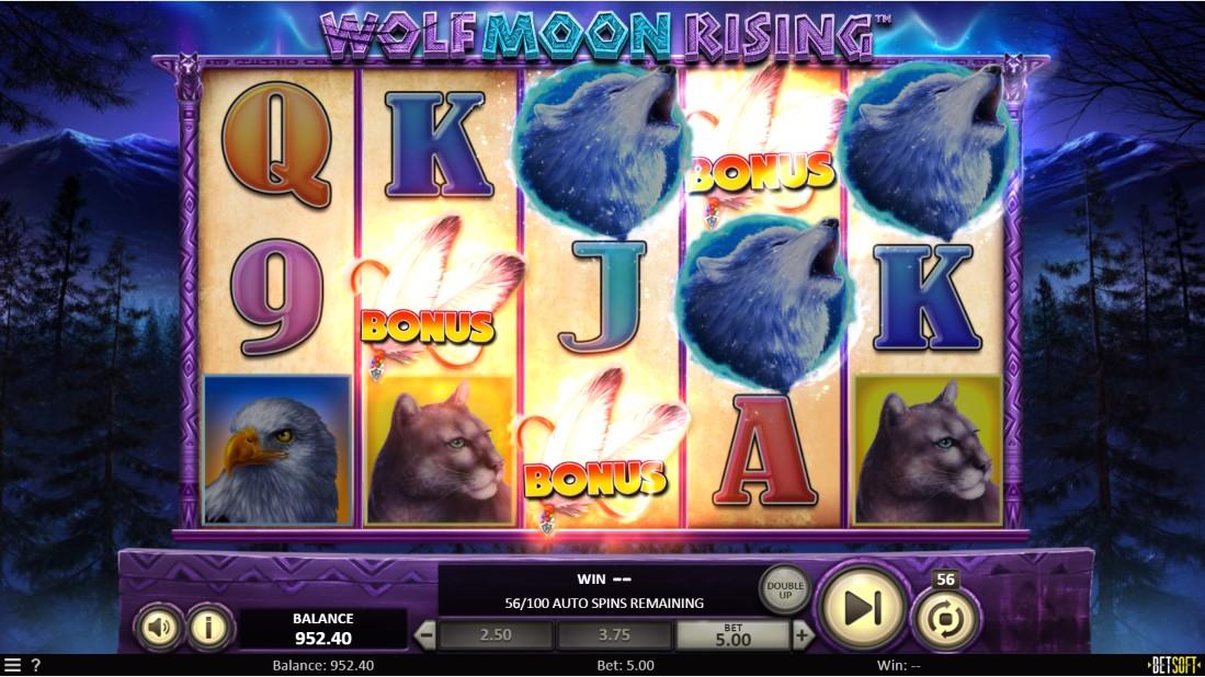 Wolf Moon Rising бесплатный слот
