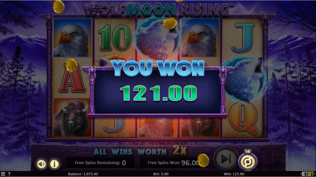 Игровой автомат Wolf Moon Rising