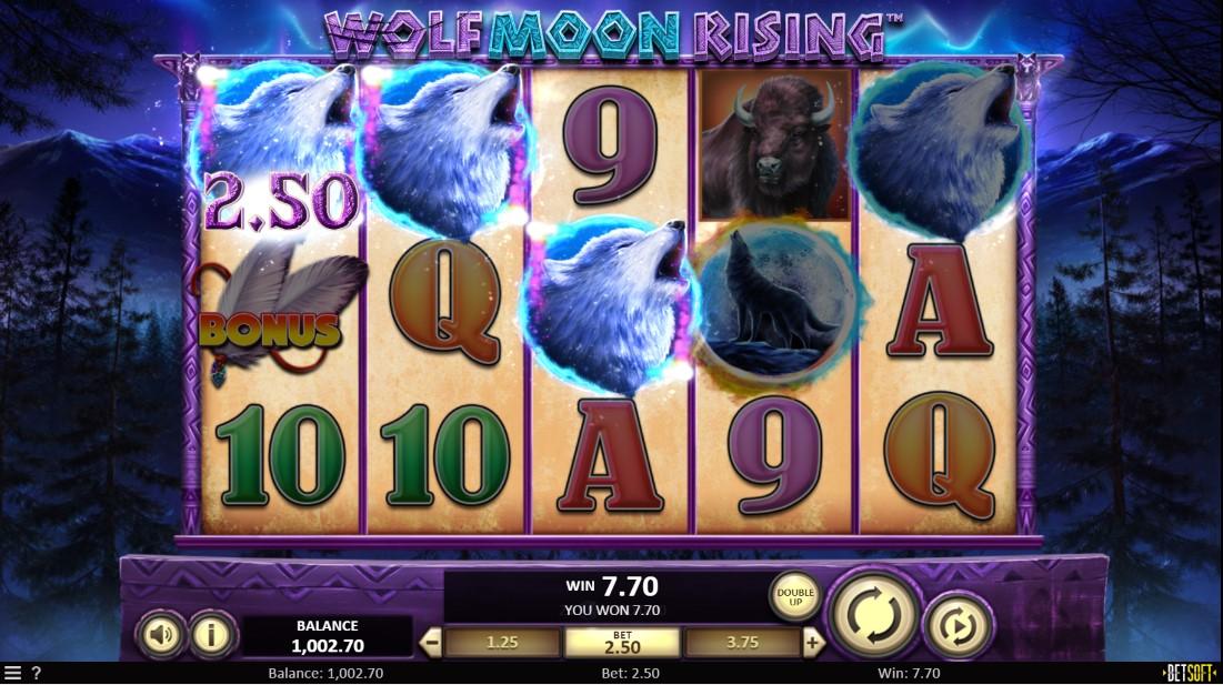 Бесплатный игровой автомат Wolf Moon Rising