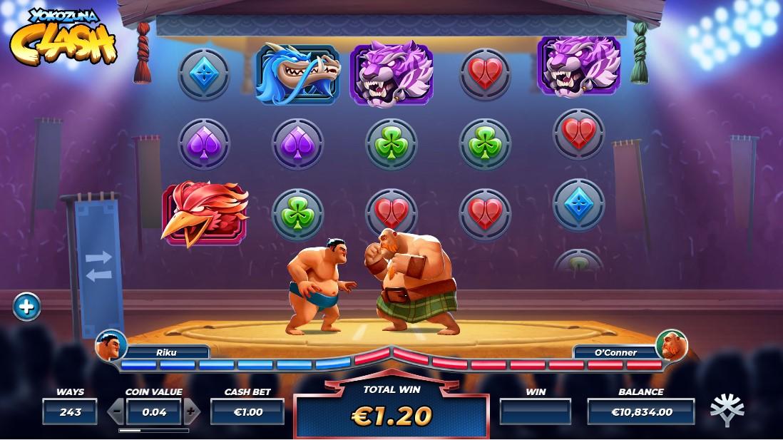 Игровой автомат Yokozuna Clash