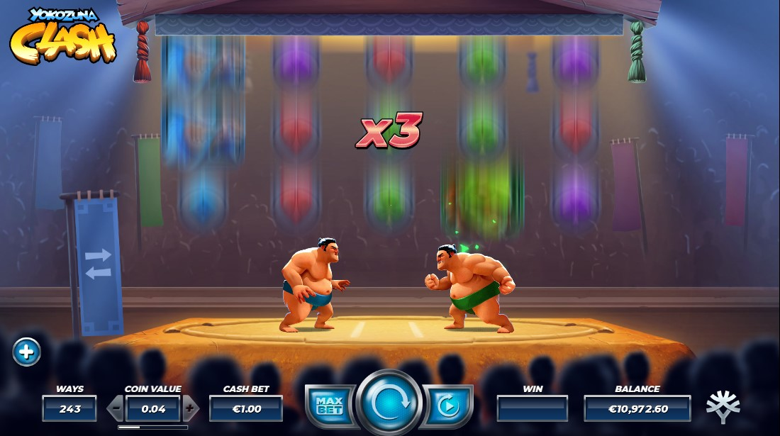 Yokozuna Clash онлайн слот