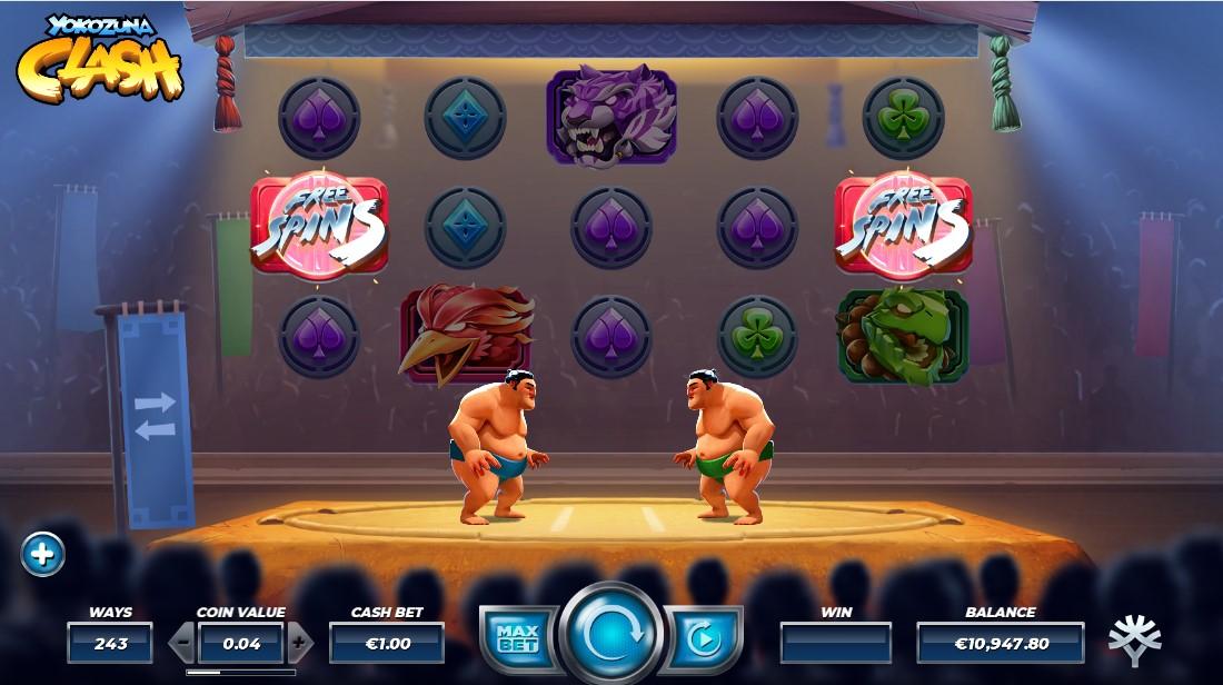 Бесплатный игровой автомат Yokozuna Clash