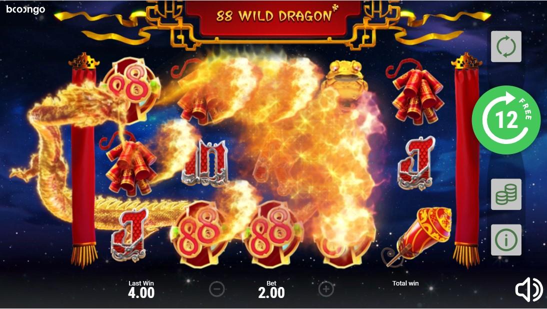 Играть бесплатно 88 Wild Dragon