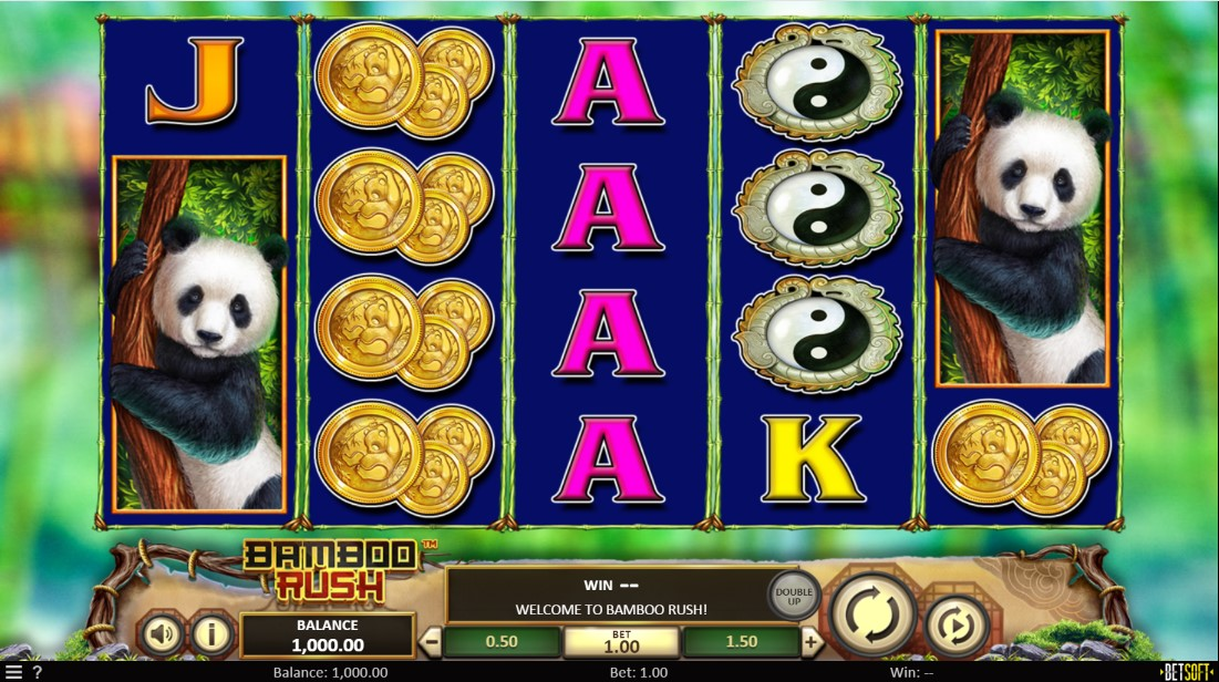 Бесплатный игровой автомат Bamboo Rush