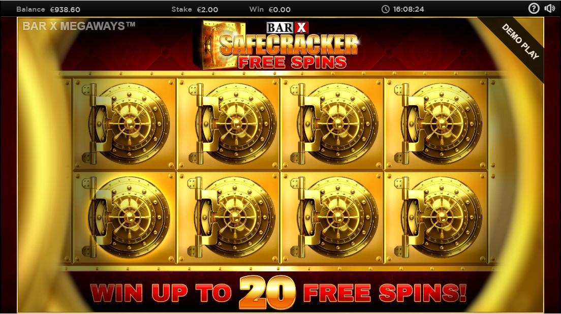 Играть бесплатно Bar-X Safecracker Megaways