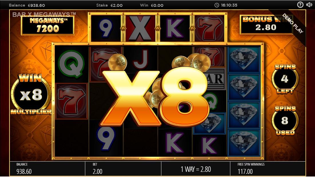 Бесплатный игровой автомат Bar-X Safecracker Megaways