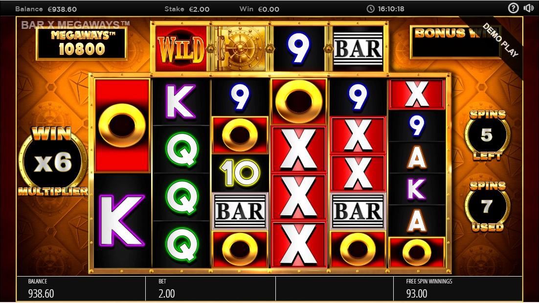 Bar-X Safecracker Megaways игровой автомат